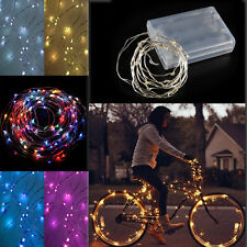 Starry Fairy Light 40LED Battery Operated Clear Wire Hanging Garland Party Xmas