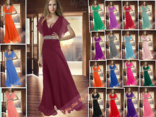 2013 Chiffon Bridesmaids Evening/Formal/Ball gown/Party/Prom Dress size 6-26