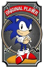Mens T-Shirt, Sonic The Hedgehog Original Player Ideal Birthday Present or Gift
