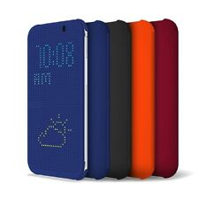 FUNDA FLIP COVER CON TAPA INTELIGENTE COMO DOT VIEW PARA HTC ONE 2 M8 CARCASA
