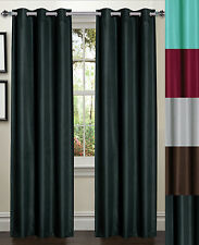 Galaxy Energy Saving Blackout 38 x 84 Texture Lined Window Panel 2 Pack 7 Colors