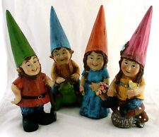 """Garden """"Gnome"""" """"Fairy"""" Figurine/Statue-12 1/2"""" 4 Variations to Choose From-Cute"""