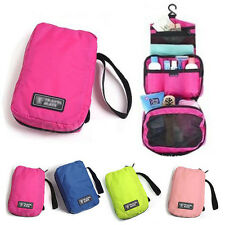 4 Color Cosmetic Makeup Travel Toiletry Hanging Purse Holder Wash Bag Organizer