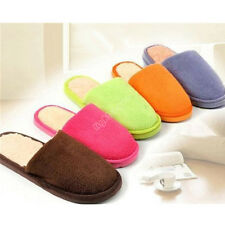 New Cute Women Lady Men Lovers Anti slip Slippers Indoor House Home Soft Warm 6