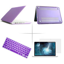 "Hard Rubberized Cover Case Shell for Laptop Macbook Air/Pro/Retina 11"" 13"" 15"""