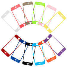 Colorful Real Tempered Glass Film Screen Protector for Apple iPhone 5 5S 5C New