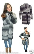 NEW LADIES WOMANS WINTER BLANKET STYLE CARDIGAN HOUSECOAT DRESSING GOWN 16-26 UK