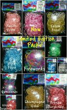 ◆◆ 300 packs◆◆   RAINBOW LOOM rubber band refill LIMITED EDITION BANDS