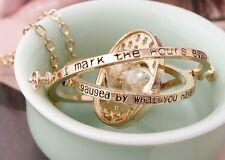 2014 New Western Style Time Turner Horcruxes Fashion Hourglass Necklace 5Color