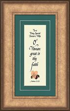 Pastor Wife Appreciation Framed Gift Honor Clergy Family with Inspiration Quote