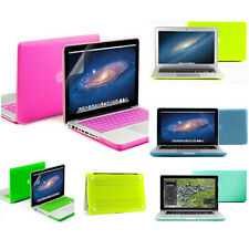 Matte Hard Case Rubberized Cover Skin For Apple MacBook Air 11 13/ Pro 15 Retina