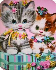 Birthday Cats ~ Frosting Sheet Cake Topper ~ Edible Image ~ D3561
