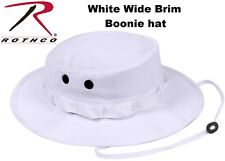 Boonie Hat White Military Style Boonie Hat Sun Hat Bucket Hat Bush Hat 5832