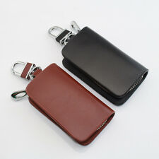 New Real Cow Genuine Leather Car Key Holder Case Bag Cover for all car model