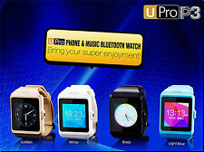 """U Pro P3 Bluetooth Smart Watch w/ Camera GSM 1.55""""Touch Screen for Android Phone"""