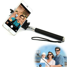 Bluetooth Selfie Remote Shutter + Extendable Handheld Monopod For iPhone Android