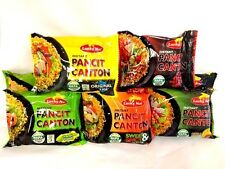 Chow Mein - Pancit Canton - Lucky Me Instant Noodles 5-Flavors (Pack of 15)