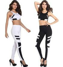 2-teiliges Fitness- / Sportset Set * Gr. M L XL * Leggings (Sporthose) + Top