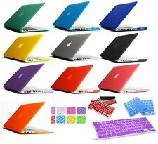 "Matte Hard Cover Scrub Case for Macbook AIR 11"" 13"" PRO 13"" 15""+Retina"