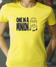Womens cut and kids DESPICABLE ME - ONE in a MINION  T-shirt
