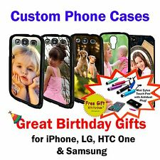 Custom Phone Case for iPhone, Samsung, LG G2, HTC One, Sony, Great Birthday Gift