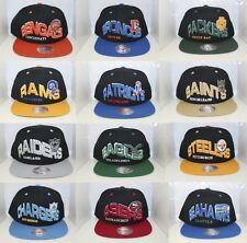 NFL The Wave Snap Back Mitchell & Ness Snapback - Variety of NFL Teams Available