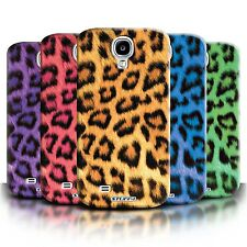 Phone Case Hard Back Cover/Skin for Samsung Galaxy S4 / Leopard Print Design