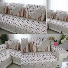 Pastoral Style Flower Leaf Sofa Cover Soft Home Loveseat Couch Cotton Slipcover