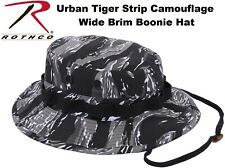 Urban Tiger Stripe CAmouflage Military Police Tactical Bucket Boonie Hat 5540