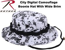 City Digital Camouflage Military Police Tactical Bucket Hunting Boonie Hat 55829
