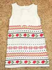 NEW JANIE AND JACK Reindeer Winter White Fair Isle Sweater Dress 4 4T LAST ONE