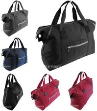 LARGE CANVAS TOTE WEEKEND TRAVEL MATERNITY OVERNIGHT GYM A4 WORK SHOULDER BAG