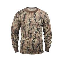 Mens Camouflage T-Shirt - Long Sleeve, Smokey Branch Camo by Rothco