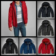 New Abercrombie by Hollister Men All-season weather warrior Fleece Jacket Coat