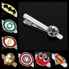 Buy 2 Get 1 Free Superhero Avenger Justice League Comic Star Wars Tie Clip Clasp