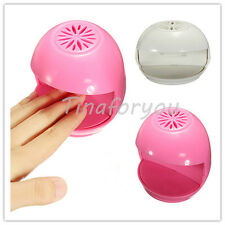 Cute Polish Blower Dryer Toe Automatic Activation Nail Art Tip Durable Fan New