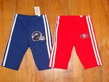 NFL Baby Boy or Girl Cute Red or Blue Sweatpants CHOOSE color, team & size NEW