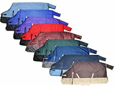 70 72 74 76 78 80 82 600D Horse Turnout Waterproof Winter Blanket Multiple Color