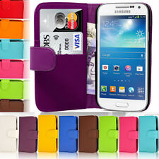 WALLET PU LEATHER FLIP CASE COVER FOR SAMSUNG GALAXY with Free Screen Protector