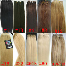 hot sell 100% remy human hair straight colors hair extensions free shipping