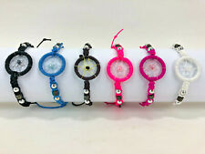 Dream Catcher Bracelet with Braided Beads Color CHOICE