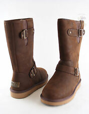 Women UGG Australia Sutter Boot 1005374 Toast Leather 100%Authentic Brand New