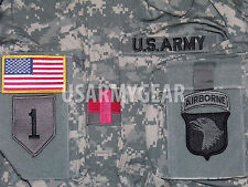 New Made in USA Army Military Acu Digital Combat Uniform Shirt Top Jacket Blouse