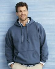 Gildan HOODIES BLANK BULK LOT Colors White Plain S-XL Wholesale Hooded 18500