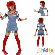 Red Chucky Wig 24