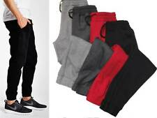MENS FLEECE JOGGER HAREM DRAWSTRING SWEAT PANTS S, M, L, XL, 2XL