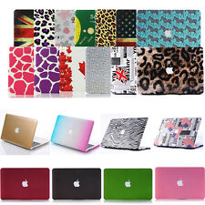 """Pattern Style Hard Case Frosted Cover Skin For MacBook AIR 11""""/ PRO 13 15 Retina"""