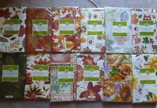 Fall Thanksgiving Vinyl Tablecloth Flannel Back 12 Styles 3 Sizes U PicK NEW