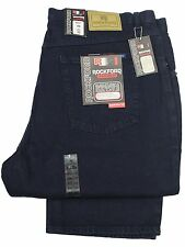 MENS CHEAP BIG KING SIZE JEANS BRANDED ROCKFORD RJ5-30 DARK NAVY KING SIZES