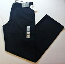 "Men Dockers D1 Slim Fit ""Easy Khaki"" Dark Navy Blue Color Pants - 60% Cotton"